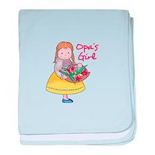 OPAS GIRL baby blanket
