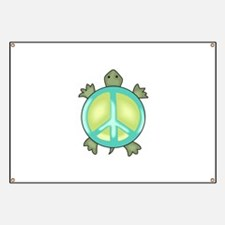 PEACE TURTLE Banner