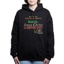 Rule #1. Women's Hooded Sweatshirt