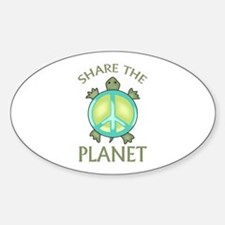 SHARE THE PLANET Decal