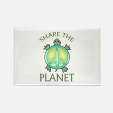 SHARE THE PLANET Magnets