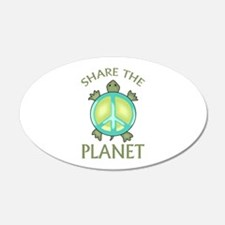 SHARE THE PLANET Wall Decal