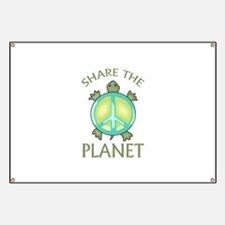 SHARE THE PLANET Banner