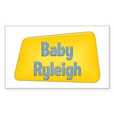 Baby Ryleigh Rectangle Decal