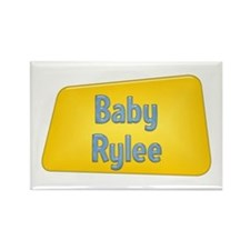 Baby Rylee Rectangle Magnet