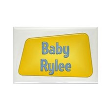 Baby Rylee Rectangle Magnet (10 pack)