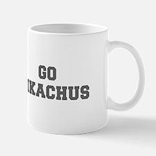 PIKACHUS-Fre gray Mugs