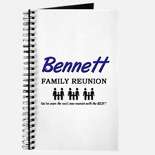 Bennett Family Reunion Journal