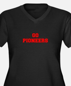 PIONEERS-Fre red Plus Size T-Shirt