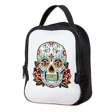 Sugar Skull 067 Neoprene Lunch Bag
