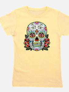 Sugar Skull 067 Girl's Tee