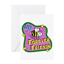 Let's Bee Friends Greeting Cards