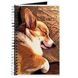 Welsh corgi Journals & Spiral Notebooks
