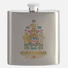 Canada COA Flask