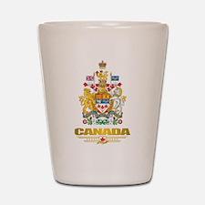 Canada COA Shot Glass