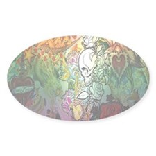 Sugar Skull 098 Decal