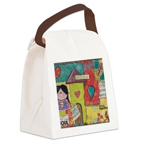 Art and Soul Canvas Lunch Bag
