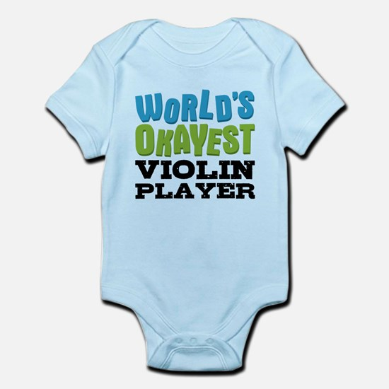 World's Okayest Violin Player Body Suit