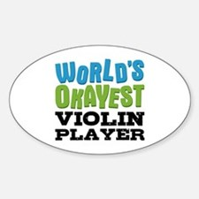World's Okayest Violin Play Decal