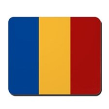 """Romania Flag"" Mousepad"