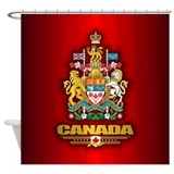 Canada coa Shower Curtains