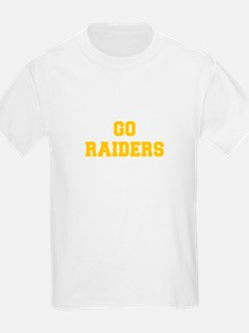 Raiders-Fre yellow gold T-Shirt