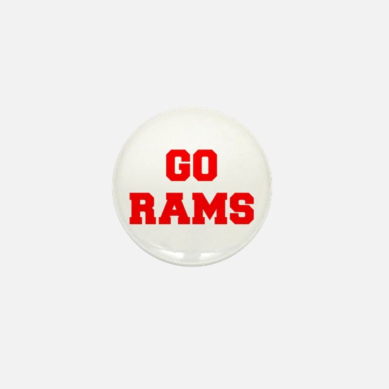 RAMS-Fre red Mini Button
