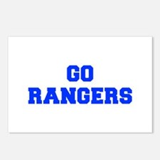 Rangers-Fre blue Postcards (Package of 8)