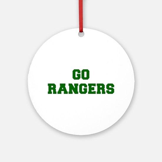 Rangers-Fre dgreen Ornament (Round)
