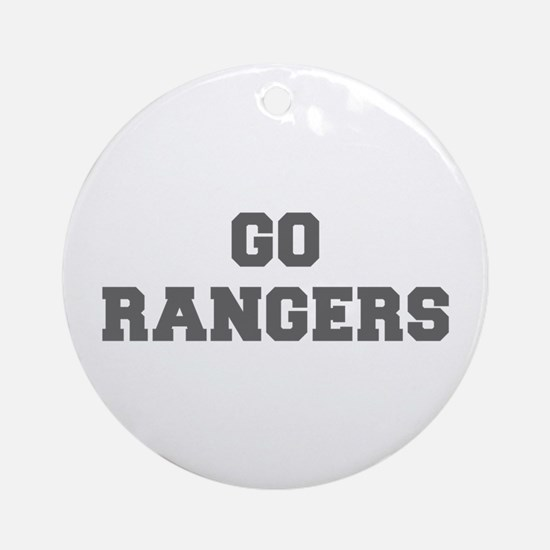 RANGERS-Fre gray Ornament (Round)