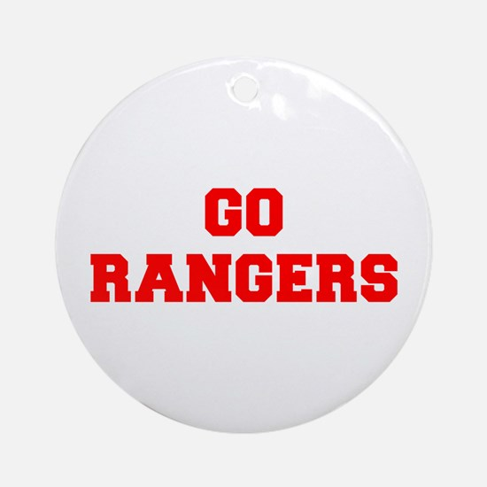 RANGERS-Fre red Ornament (Round)