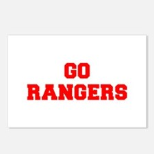 RANGERS-Fre red Postcards (Package of 8)