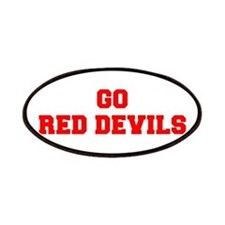 RED DEVILS-Fre red Patch
