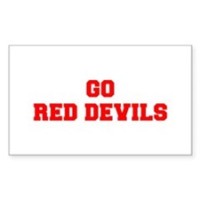 RED DEVILS-Fre red Decal