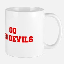 RED DEVILS-Fre red Mugs