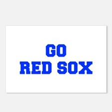 red sox-Fre blue Postcards (Package of 8)