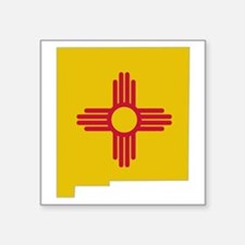 "Cute New mexico Square Sticker 3"" x 3"""