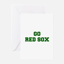 red sox-Fre dgreen Greeting Cards