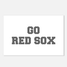 RED SOX-Fre gray Postcards (Package of 8)