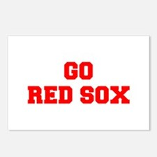 RED SOX-Fre red Postcards (Package of 8)