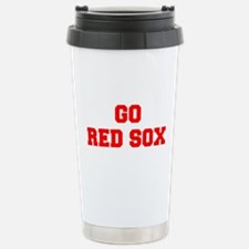 RED SOX-Fre red Travel Mug
