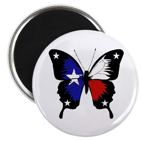 Texas Butterfly Magnet