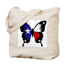Texas Butterfly Tote Bag