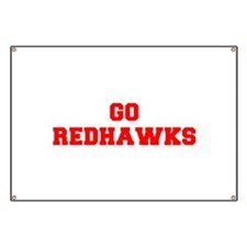 REDHAWKS-Fre red Banner