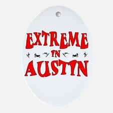 Extreme Austin Oval Ornament