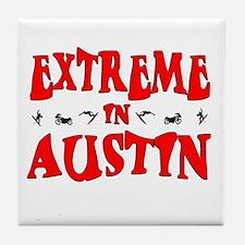 Extreme Austin Tile Coaster