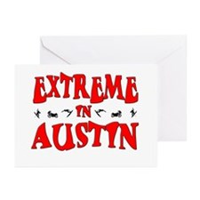 Extreme Austin Greeting Cards (Pk of 10)