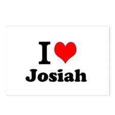 I Love Josiah Postcards (Package of 8)