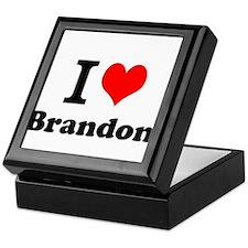 I Love Brandon Keepsake Box