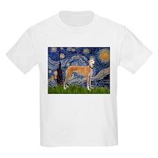 Starry Night & Greyhound T-Shirt